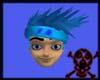 Blue Kakashi Hair