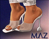 G. MLZ Nude Heels