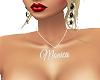 Custom Name Chain Monica