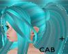 Blue Glow Hair