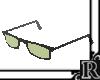 [R] green glasses