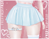 F. Mini Skirt Blue