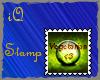 !iQ Vegetarian Stamp