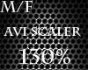M/F Avi Scaler 130%