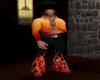 NeOn Fire Disco Suit