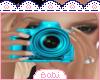Blue Photograph Ani