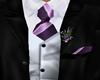 (JS) Wedding Suit B/Purp