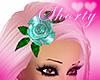 })i({ teal rose