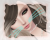 A: Teal cat whiskers