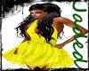 {JR}Yellow Spring Dress