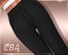{CBA} Trousers Black