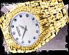 LB / Gold Diamond Watch