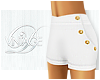 V| Sailor Shorts - White
