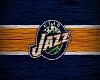 Utah Jazz Wooden Art