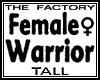 TF Girl Warrior Avi Tall