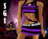 Strapped Dress Purple