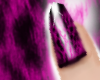 !P| Pink Leopard Nail*D