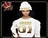 llKNZ*Queen beanie/white