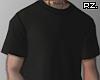 rz. Black Shirt Tucked