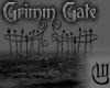 Grimm Wrought Iron Gate