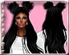(RT)BLACK KRYSTAL HAIR