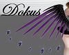 Purple Dark Wings