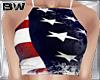4 USA Flag Crop Shirt V3