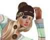 Jannie Rennie blond fros