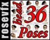 36 Head Poses