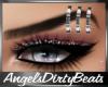 Silver eyebrow piercing L