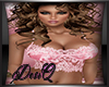 DQ Pink Lace Bustier
