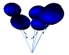 BLUE ANIMATED BALLOONS