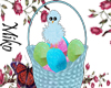 easter basket blue