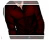 [A*] Burgundy Button Up