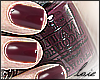 ℓ garnet nails
