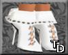 *T Short Boots White