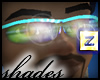 :z Glasses Cyan GLOframe