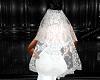 Veil lace no tiara