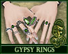Gypsy Rings Green