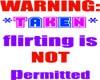 WARNING: taken