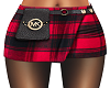 Kors Plaid Skirt