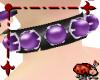 Purple Jewel Choker