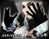 ! Black Vampire Gloves