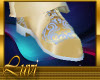 LUVI GOLD & SKY SHOES