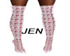 Pink/White Boots RLL