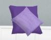 purple 2 tone pillows