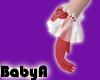! BA Santa Red Gloves