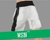 [wsn]boxing short#black