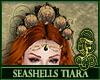 Seashells Tiara Ocre