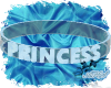 Blue Princess Collar